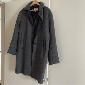 H&M men wool trench coat